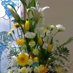 今年の講壇花